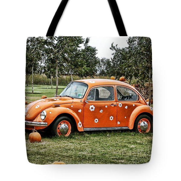 Bugs In The Patch Again Tote Bag by Scott Wyatt