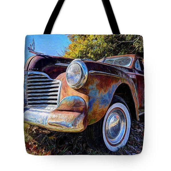 Buick Eight Tote Bag