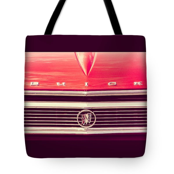 Buick Retro Tote Bag by Caitlyn Grasso