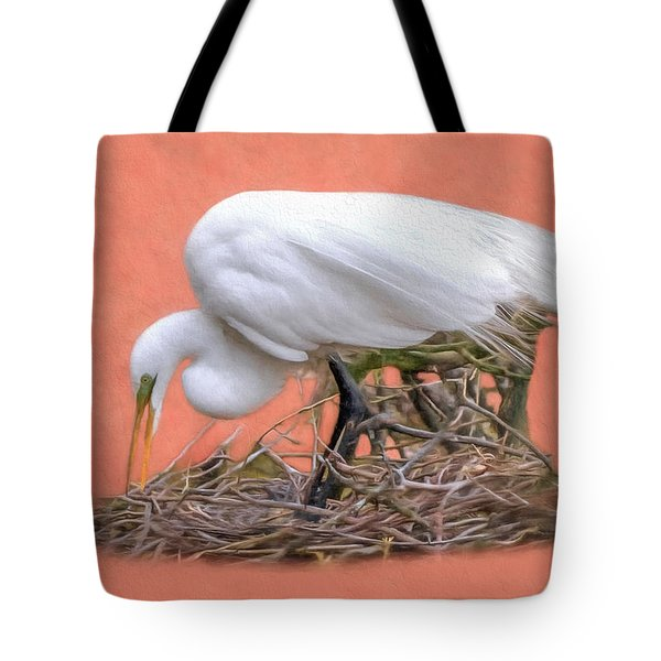 Building A Nest Tote Bag