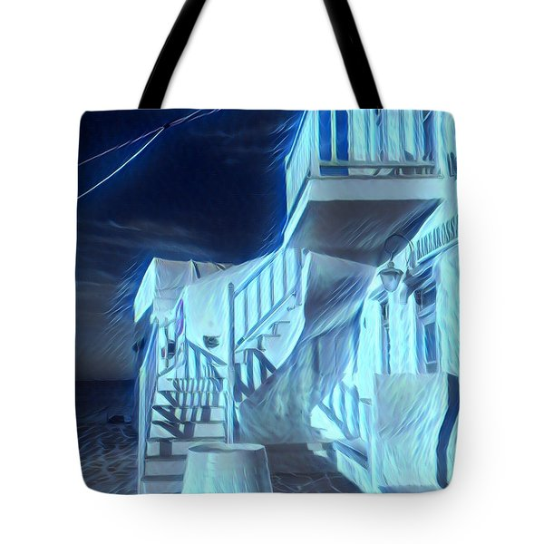 Building At Harbour  Tote Bag