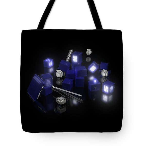 Building Blocks Of Space Time Travel Tote Bag