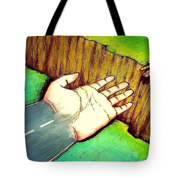 Building Bridges Tote Bag