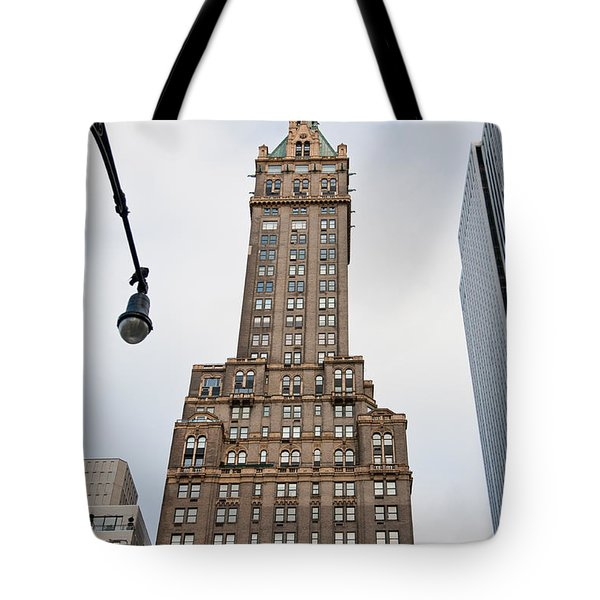 Building From A Unusual Perspective Tote Bag