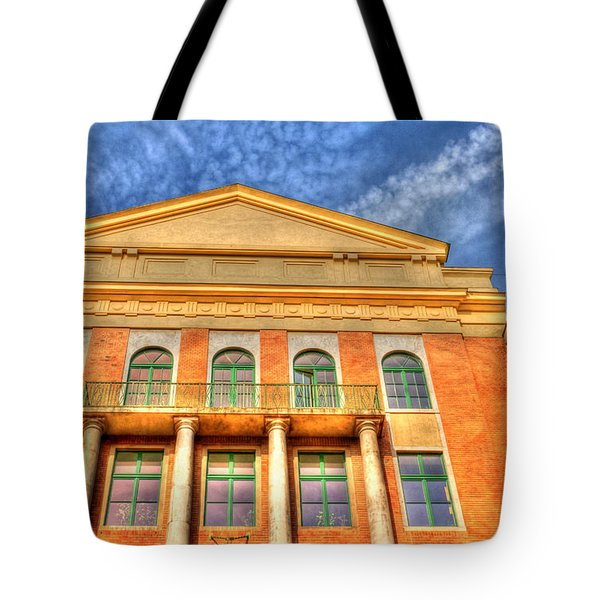 Building In Budapest Tote Bag