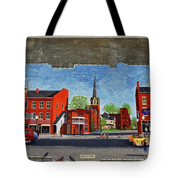 Building Mural - Cuba New York 001 Tote Bag