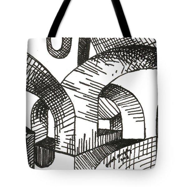 Buildings 1 2015 - Aceo Tote Bag