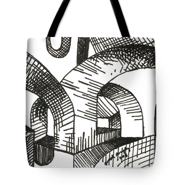 Buildings 1 2015 - Aceo Tote Bag