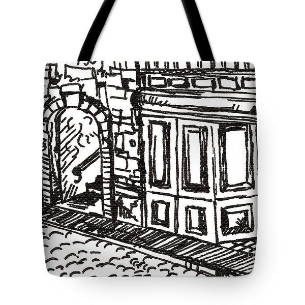 Buildings 2 2015 - Aceo Tote Bag