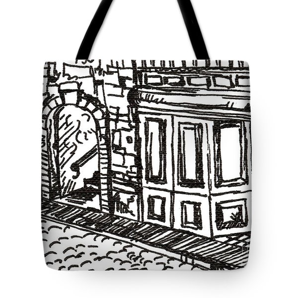 Buildings 2 2015 - Aceo Tote Bag