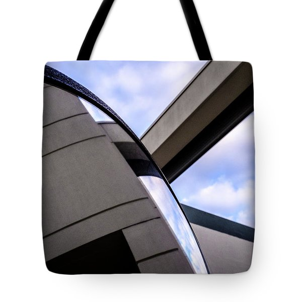 Buildings And Shapes With A Blue Sky In Orlando Florida Tote Bag