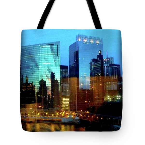 Reflections On The Canal Tote Bag