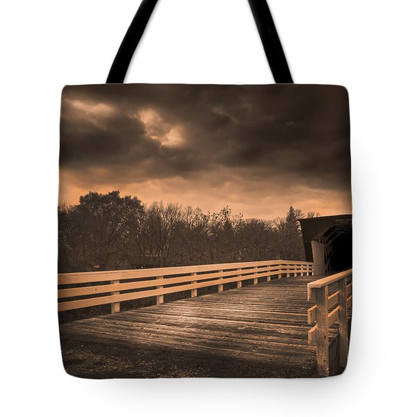 Built In 1883 Movie Clint Eastwood Tote Bag