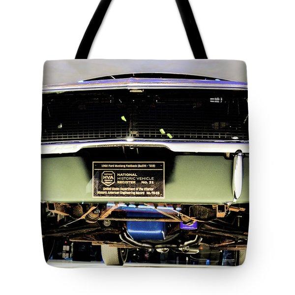 Bulitt Front View Tote Bag