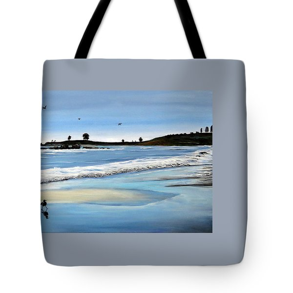 Bull Beach 2 Tote Bag