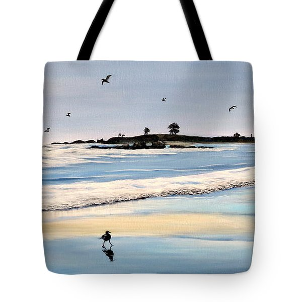 Bull Beach Tote Bag