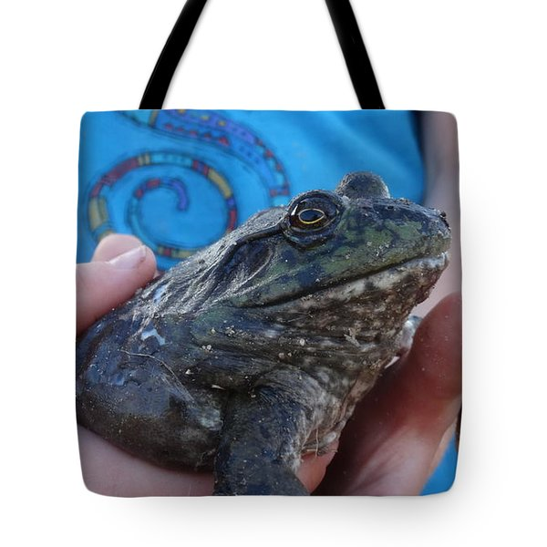 Tote Bag featuring the photograph Bull  by Eric Dee