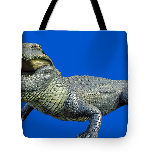 Bull Gator Transparent For T Shirts Tote Bag