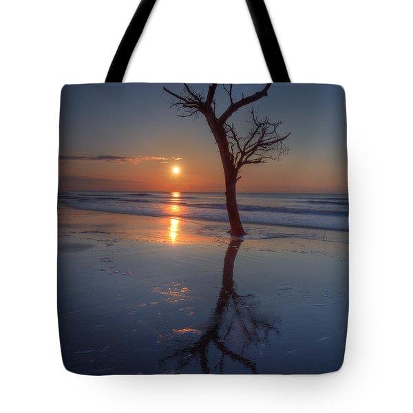 Bull Island Sunrise Tote Bag