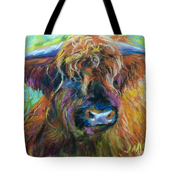 Bull Tote Bag