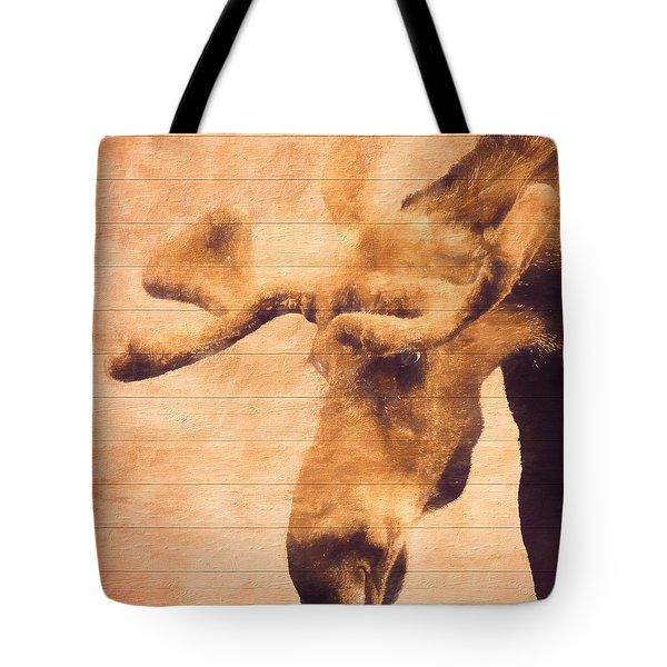 Bull Moose Barn Door Tote Bag