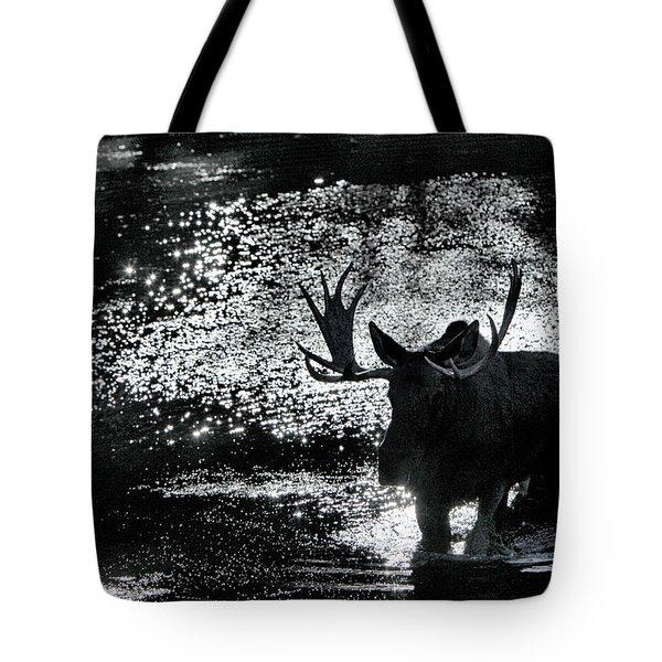 Bull Moose Shadow Tote Bag