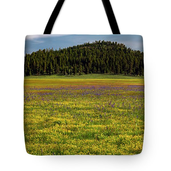Bull Prairie Tote Bag by Leland D Howard