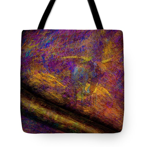 Tote Bag featuring the photograph Bull Rust by Paul Wear