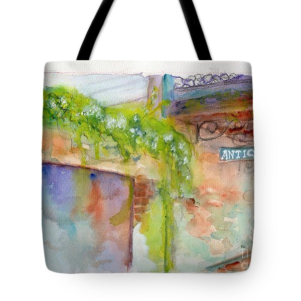 Bull Street Savannah Ga Tote Bag
