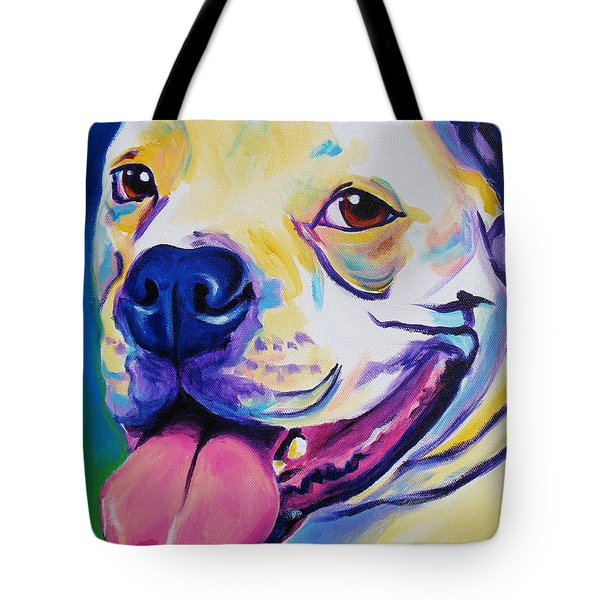 American Bulldog - Luke Tote Bag