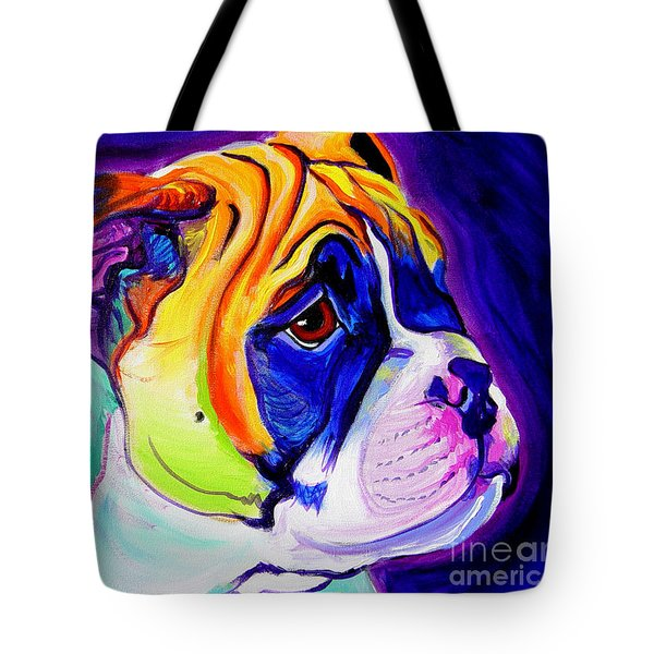 Bulldog - Pup Tote Bag