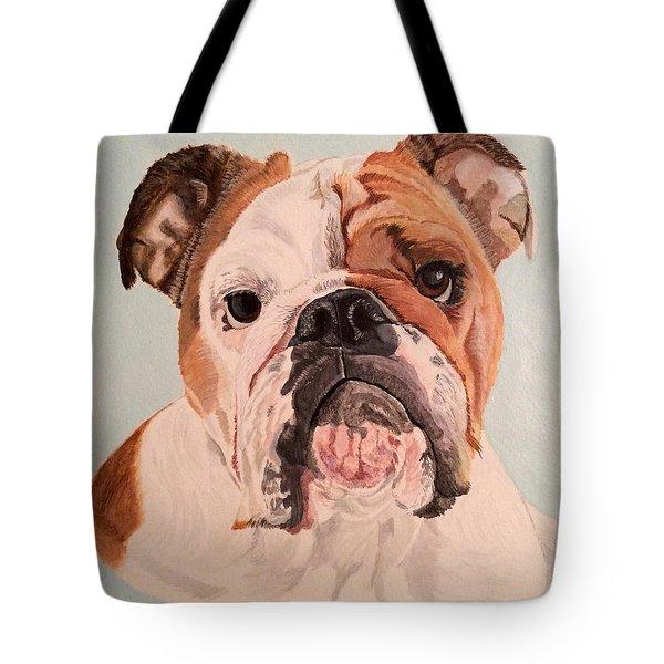 Bulldog Beauty Tote Bag
