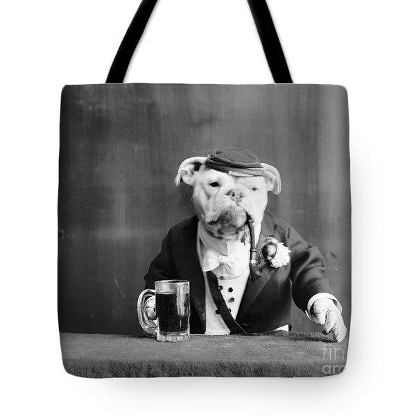 Tote Bag featuring the photograph Bulldog, C1905 by Granger