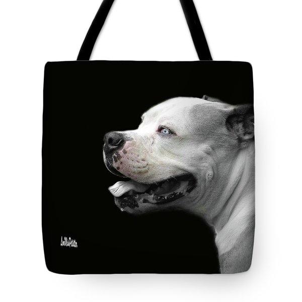 Bulldog Sando  Portrait  Tote Bag