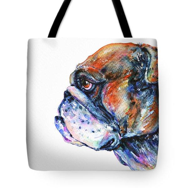 Bulldog Tote Bag