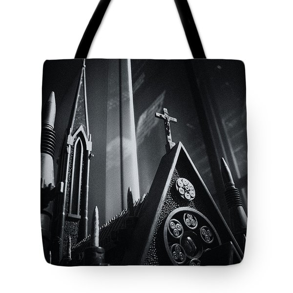 Bullet Church Tote Bag