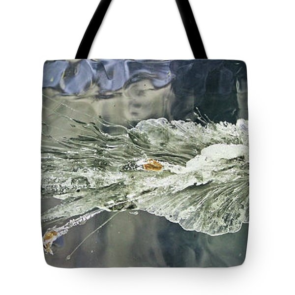 Bullet Fragmentation Abstract Tote Bag by Kristin Elmquist
