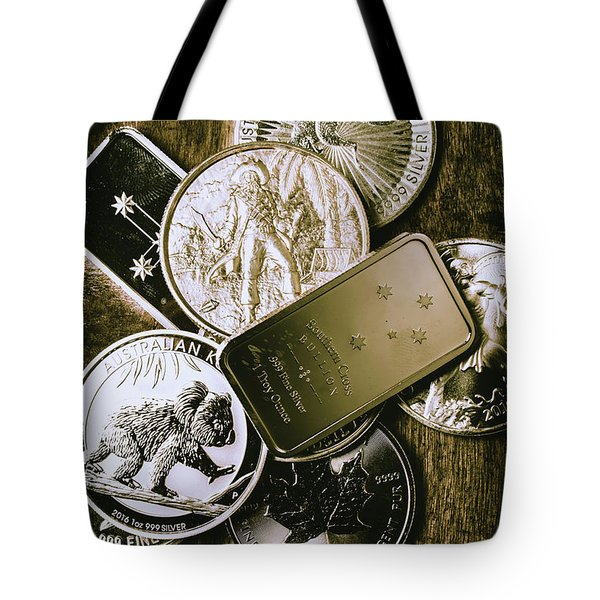 Bullion Wealth Stockpile Tote Bag
