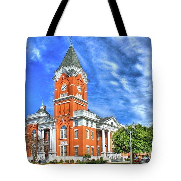 Bulloch County Courthouse Statesboro Georgia Tote Bag