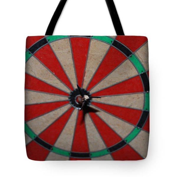 Bulls Eye Tote Bag by Rob Hans