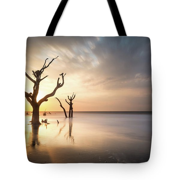 Bulls Island Sunrise Tote Bag