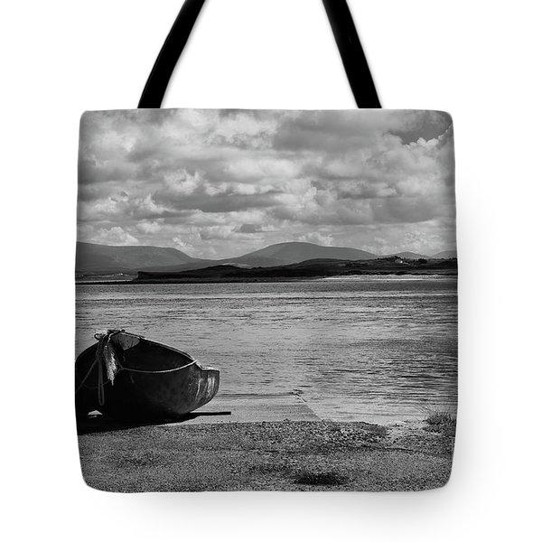 Bullsmouth Pier Achill Island Tote Bag