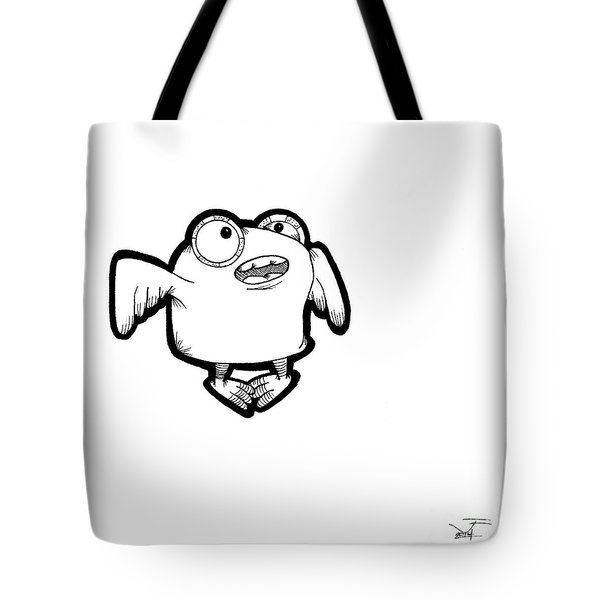 Buma Tote Bag by Uncle J's Monsters