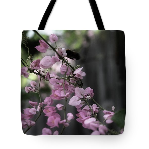 Tote Bag featuring the photograph Bumble by Megan Dirsa-DuBois