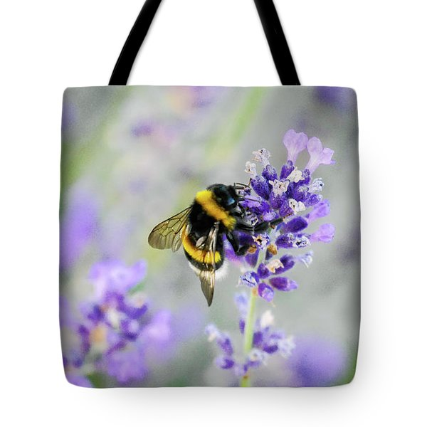 Tote Bag featuring the photograph Bumblebee by Bee-Bee Deigner