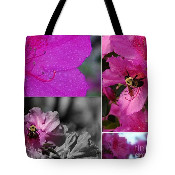 Bumblebee Bonanza Tote Bag by Priscilla Richardson