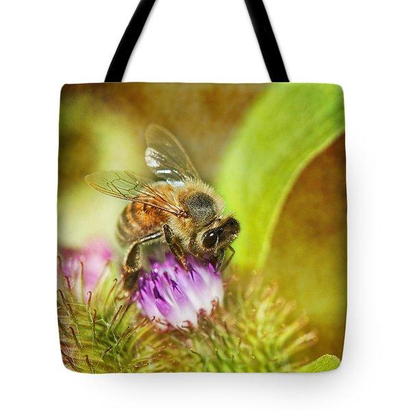 Bumbling Bee Tote Bag