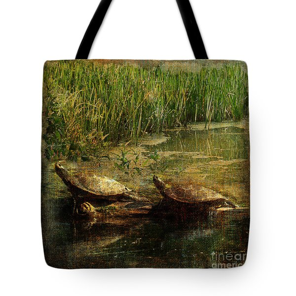 Bump On A Log 2015 Tote Bag