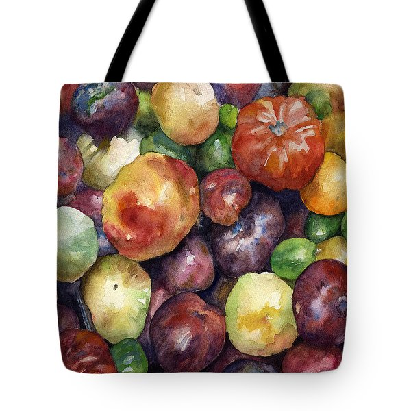 Bumper Crop Of Heirlooms Tote Bag