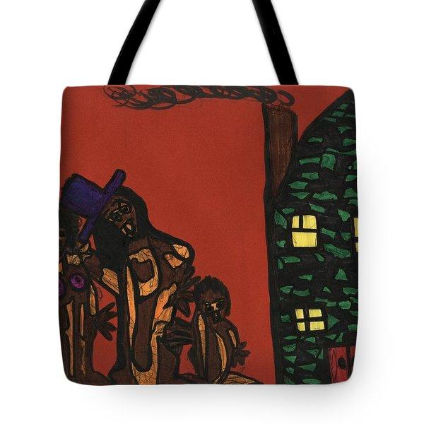 Bumpkin Dwellings Tote Bag